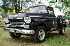 Chevrolet Apache classic pickup truck Royalty Free Stock Images