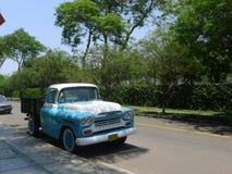 Chevrolet Apache prende in San Isidro, Lima Immagine Stock Libera da Diritti