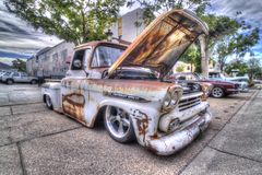 Chevrolet Apache truck Stock Images