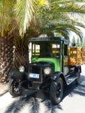 Chevrolet-Aufnahme 1926 unter die Palmen stockfoto