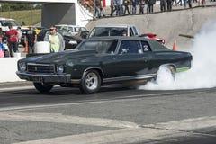 Chevrolet-Auto Burnout Lizenzfreies Stockbild