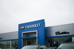 Chevrolet-Automobil-Verkaufsstelle Chevy ist eine Abteilung von General Motors XIV Lizenzfreie Stockbilder