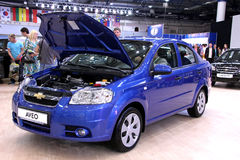 Chevrolet Aveo Royalty Free Stock Photography