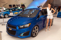 Chevrolet Aveo RS concept car Stock Images