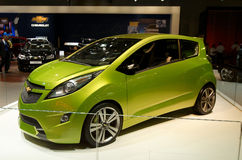 Chevrolet Beat. New Chevrolet Beat concept car. Moscow International Automobile Salon' 2008 will take place August 27 through September 7, 2008 in Moscow. For Stock Photos