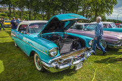 Chevrolet 1957 Bel Air Lizenzfreie Stockfotos