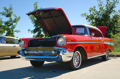 1957 Chevrolet bel air Fotografia Stock