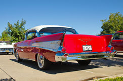 1957 Chevrolet bel air Fotografia Royalty Free