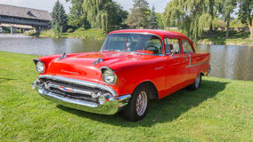 Chevrolet 1955 Bel Air Lizenzfreies Stockfoto