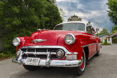 Chevrolet Bel Air 1953 Stock Afbeeldingen