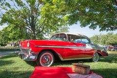 Chevrolet 1956 Bel Air Photographie stock