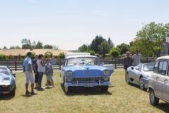 1956 μπλε Chevrolet Bel Air Στοκ φωτογραφία με δικαίωμα ελεύθερης χρήσης