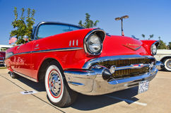 Chevrolet Bel Air, American Classic Car Royalty Free Stock Images