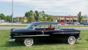 1955 Chevrolet Bel Air bij de Woodward-Droomcruise Stock Foto