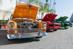 Chevrolet bel air, Camaro RS i Camaro Z28, Obraz Royalty Free