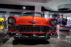 Chevrolet 1956 Bel Air Convertible Imagem de Stock