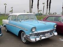 Chevrolet bel air Coupe eksponujący w Chorrillos, Lima Fotografia Stock