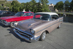 1957 Chevrolet Bel Air 2 Door Hardtop Stock Photography