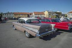 1957 Chevrolet Bel Air 2 Door Hardtop Royalty Free Stock Photography