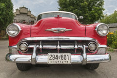 Chevrolet Bel Air 1953 front view Stock Photo