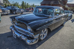1956 Chevrolet Bel Air Hardtop Coupe Stock Fotografie