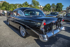 1956 Chevrolet Bel Air Hardtop Coupe Royalty-vrije Stock Afbeeldingen