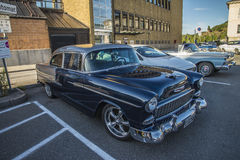 1955 Chevrolet Bel Air Hardtop Coupe Royalty-vrije Stock Fotografie