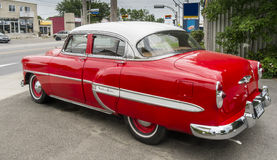 Chevrolet Bel Air 1953 left side back Stock Photos