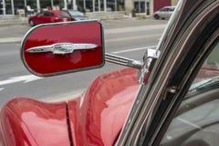 Chevrolet bel air 1953 lustro Obrazy Royalty Free