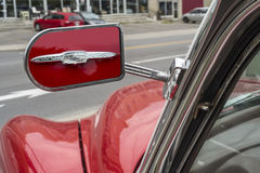Chevrolet Bel Air 1953  mirror Royalty Free Stock Images