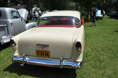 Chevrolet Bel Air na mostra de carro antigo Imagens de Stock