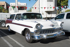 Chevrolet Bel Air Nomad on display Stock Image