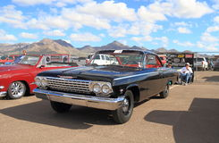 USA: Classic car -1962 Chevrolet Bel Air Royalty Free Stock Image