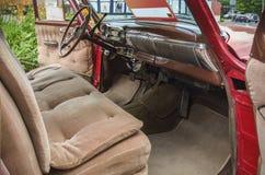 Chevrolet bel air 1953 wnętrze Obrazy Stock
