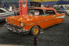 Chevrolet belair convertible Stock Images