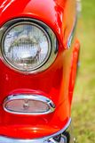 1955 Chevrolet BelAir coupe Στοκ φωτογραφίες με δικαίωμα ελεύθερης χρήσης