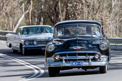Chevrolet Belair Sedan 1953 Royaltyfri Foto
