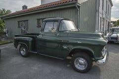 1956 Chevrolet 3100 Bestelwagen Royalty-vrije Stock Fotografie