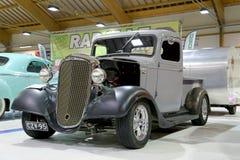 Chevrolet-Bestelwagen 1936 Uitstekende Auto in een Show Stock Afbeeldingen