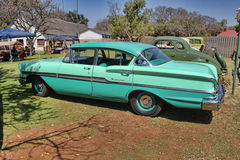 1958 Chevrolet Biscayne 4 Door side view Stock Image