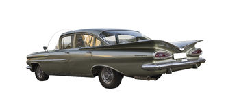 1959 Chevrolet Biscayne (Impala) Στοκ Εικόνες