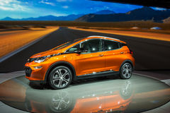 Chevrolet 2017 Bolt EV Fotografie Stock