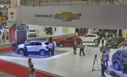 Chevrolet booth at International Motor Show Royalty Free Stock Photography