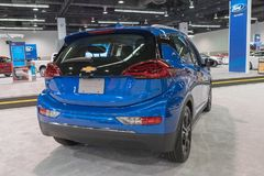 Chevrolet-Bout EV op vertoning Royalty-vrije Stock Fotografie