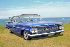Chevrolet brookwood impala classic car Royalty Free Stock Photography