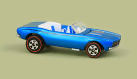 Chevrolet Camaro 1967. 1967 Chevy Camaro Convertible, Hot Wheels 2008 Since '68 Muscle Cars 4-car Pack Stock Images