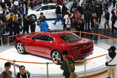 Chevrolet Camaro at Auto Shanghai 2013 Royalty Free Stock Image