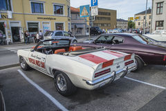 1969 Chevrolet Camaro, automobile di passo ufficiale Immagini Stock