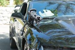 Chevrolet Camaro Batmobile Fotografia Royalty Free