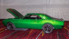 Chevrolet Camaro bij SEMA Stock Afbeeldingen